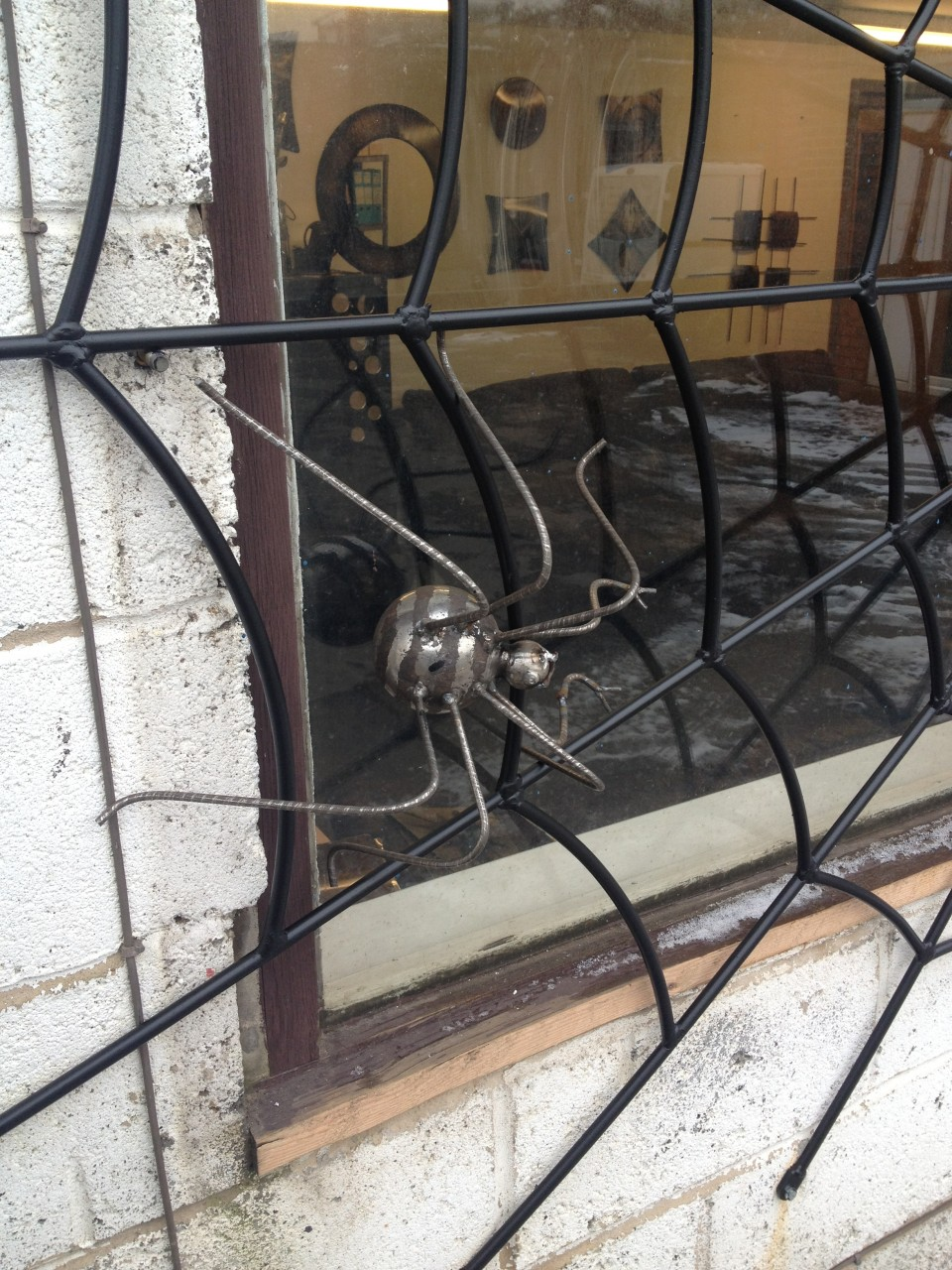 Spider Web Security Grill